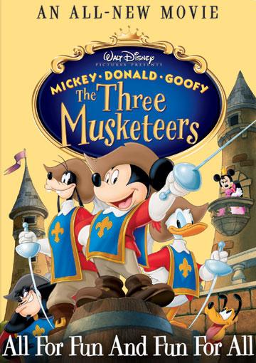 programmes TV Disney hors chaine Disney MickeyDonaldDingoLes3Mousquetaires